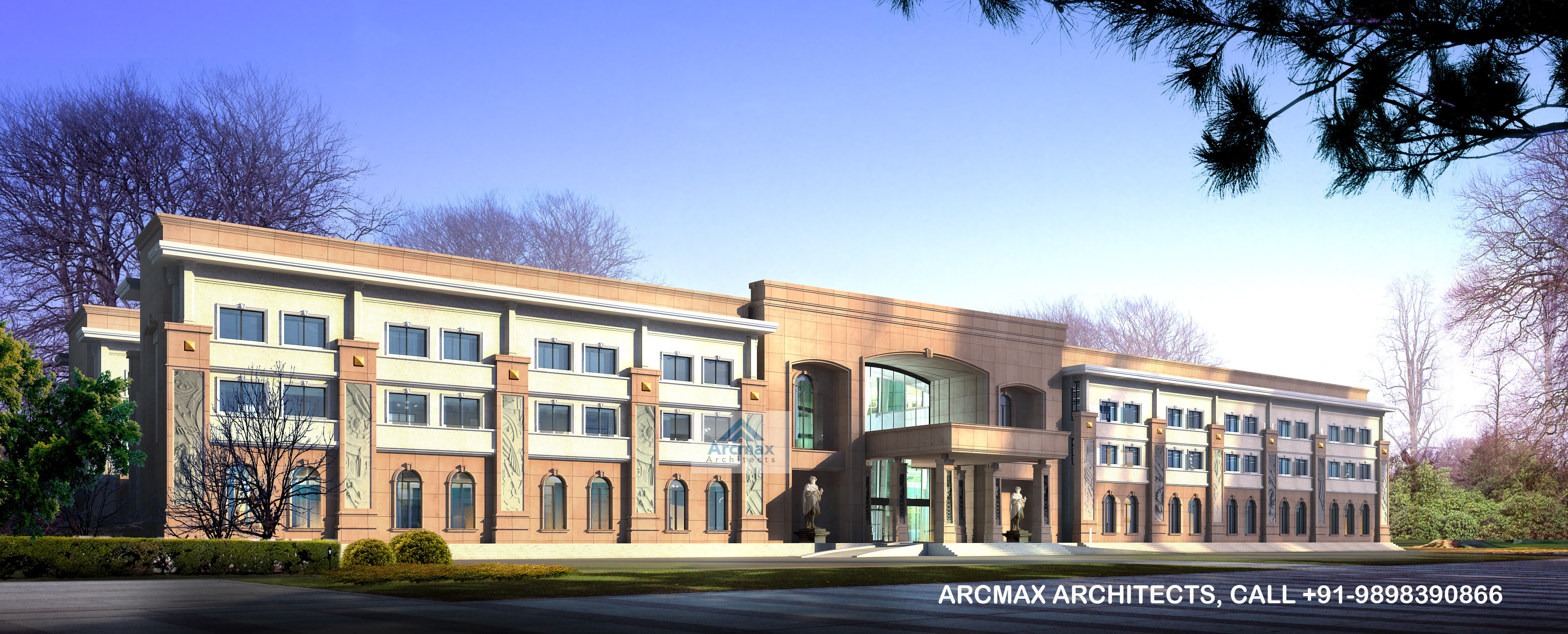 International school design services buy online arcmax for Online architects for hire