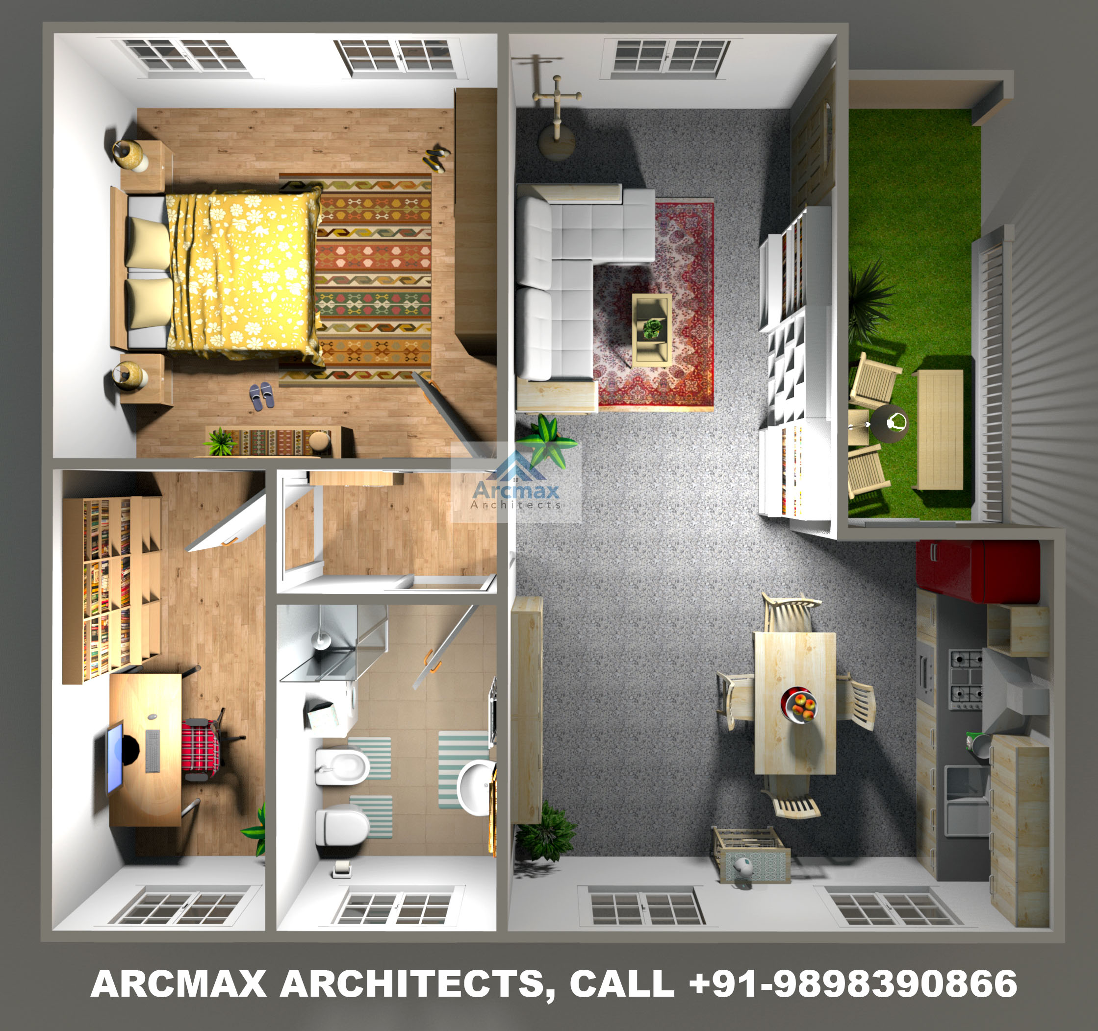 Low Cost Housing Design & Home Plans - Arcmax Architects ...
