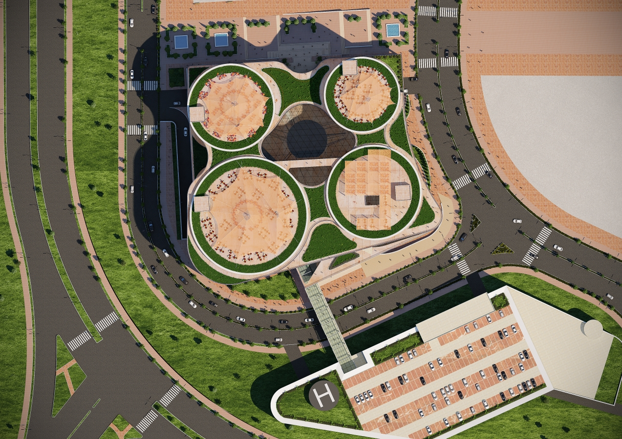 Shopping Mall Building Custom Mockup Design On Land Area Below 20000 Square Metre Anywhere In The World