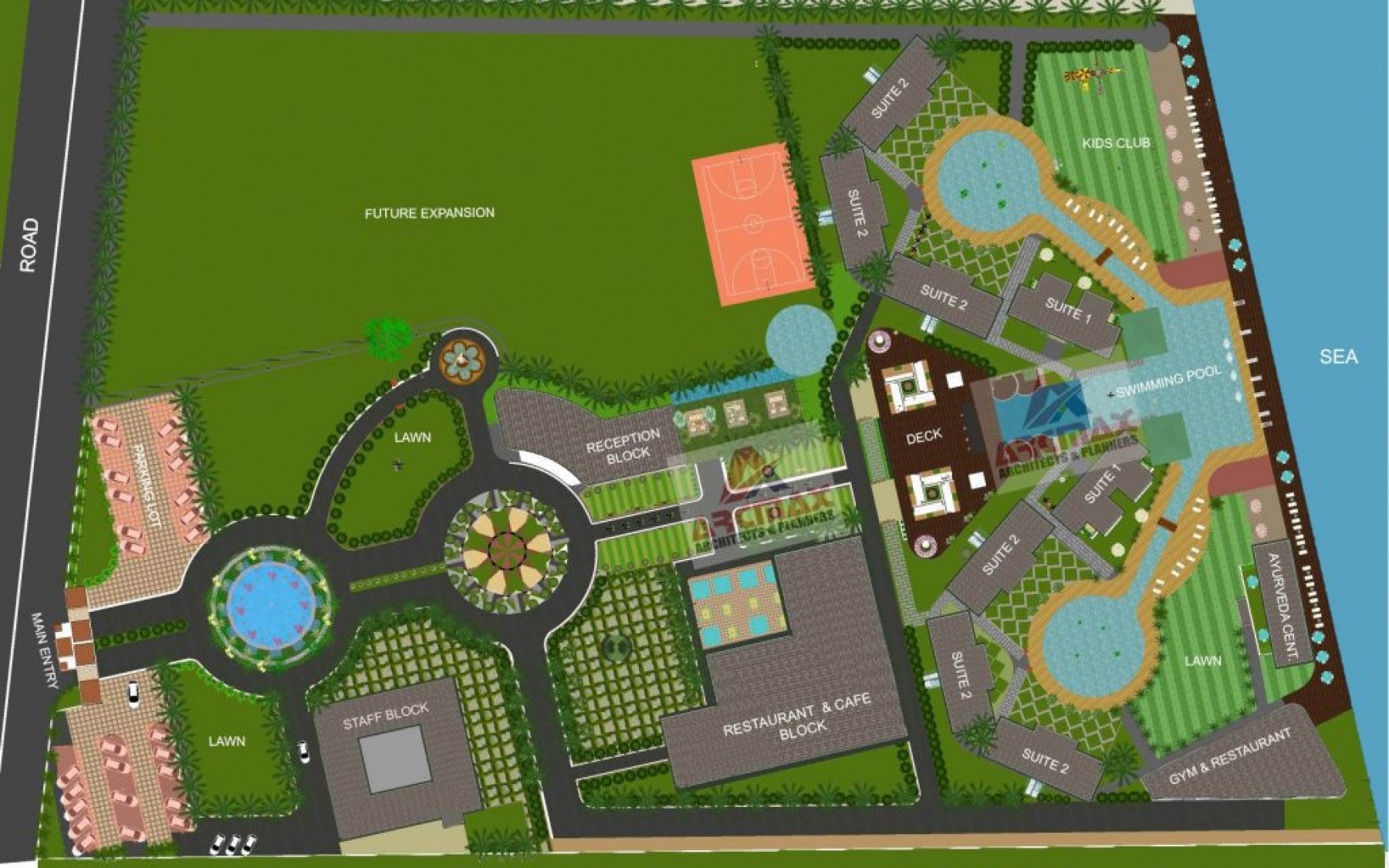 Best resort design architect in india resort design - Hotel design planning and development ebook ...