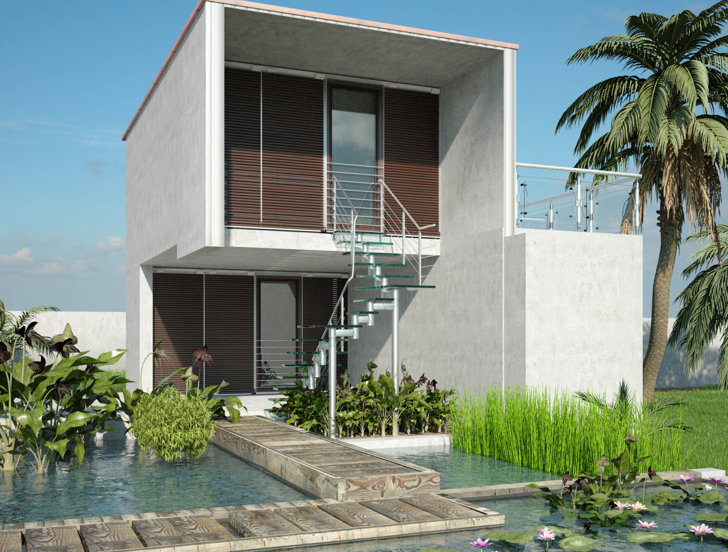 Affordable Modern Housing Design Arcmax Architects