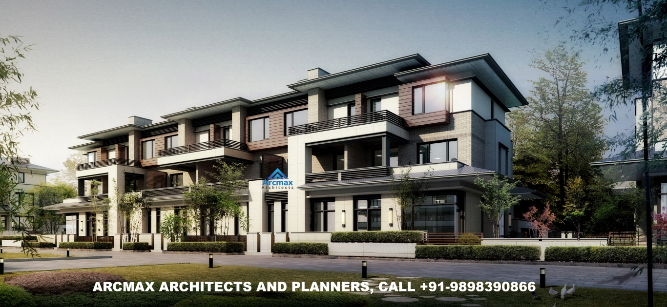 Architects in bhopal for home design and house planning including township planning arcmax architects