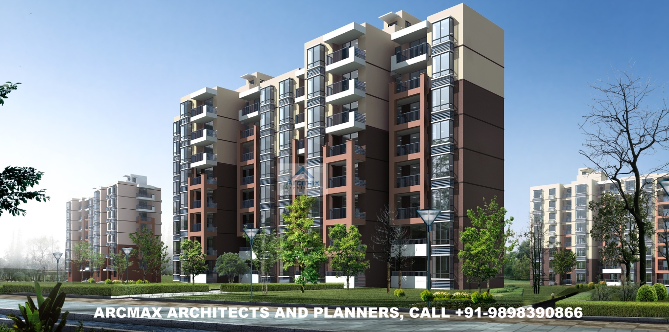 Residential complex design and planning arcmax architects