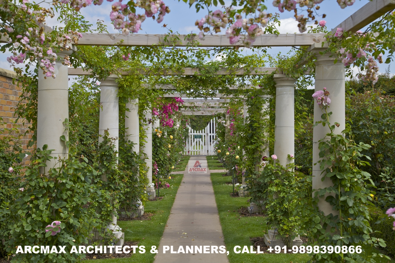 Roof Design Ideas: Top Architects For Marriage Garden Design