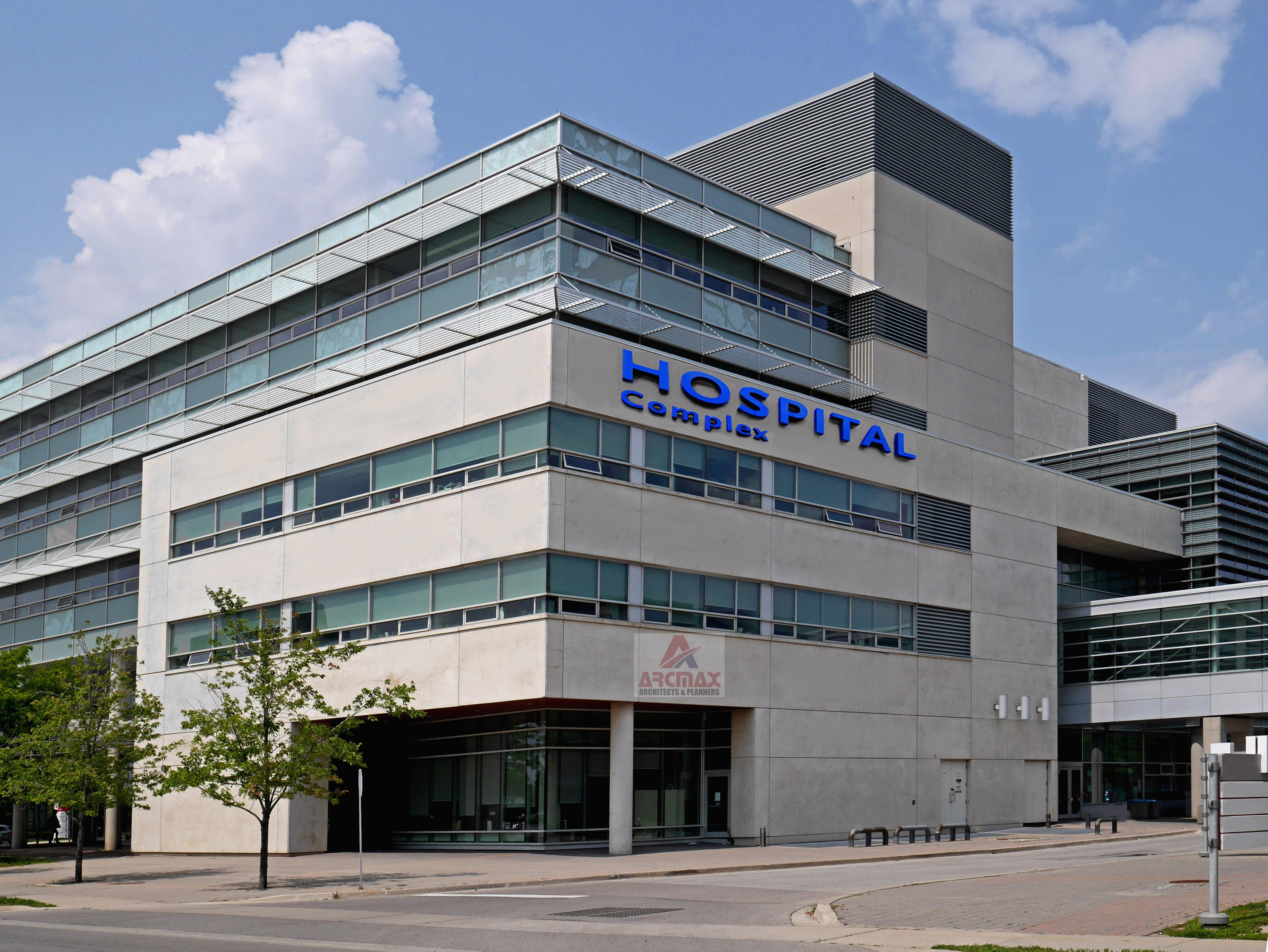 Hospital Building Plan - Arcmax Architects & Planners