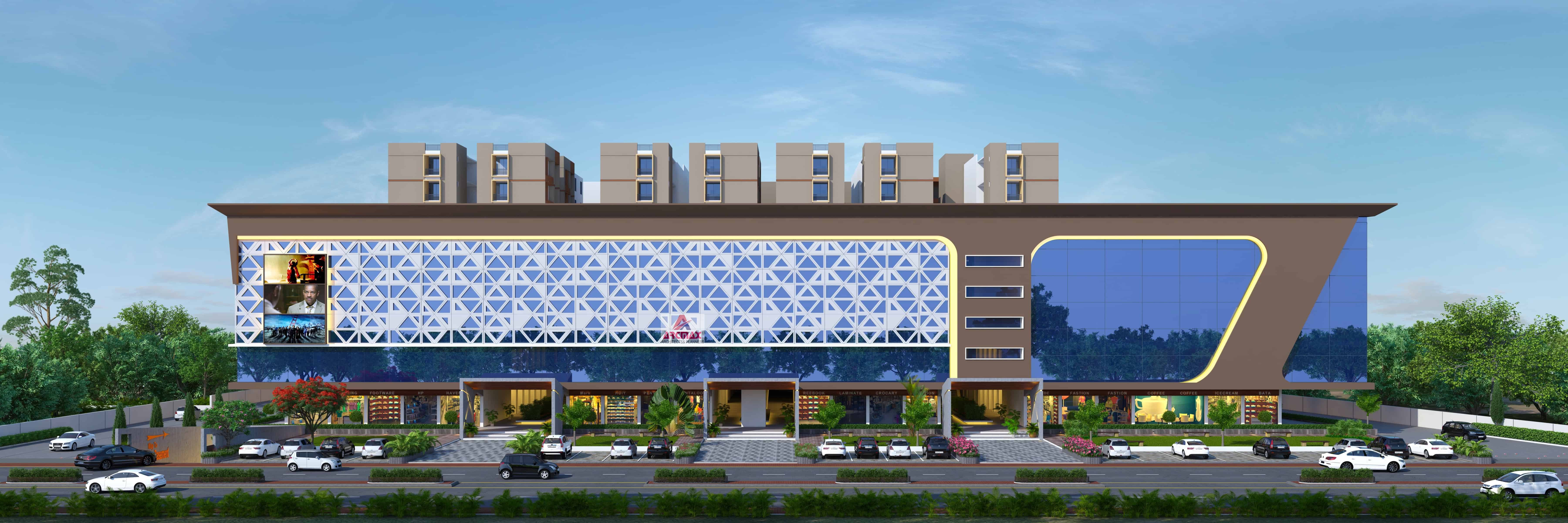 Architect for multiplex design arcmax architects planners for Best architects websites