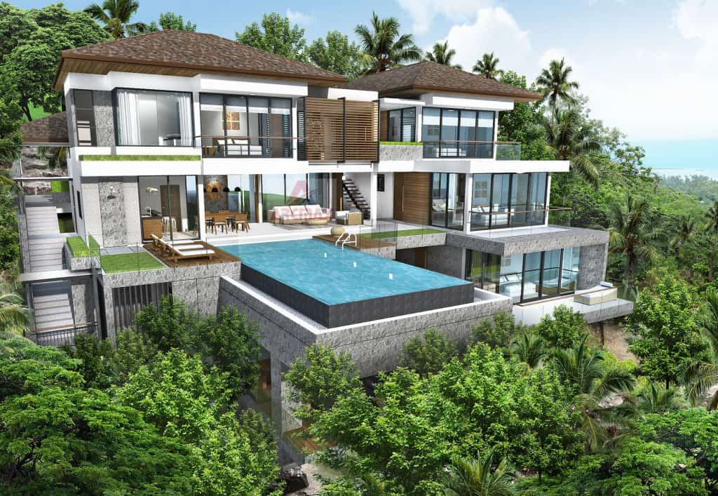 Modern villa designs cottage house plans luxury villas designs