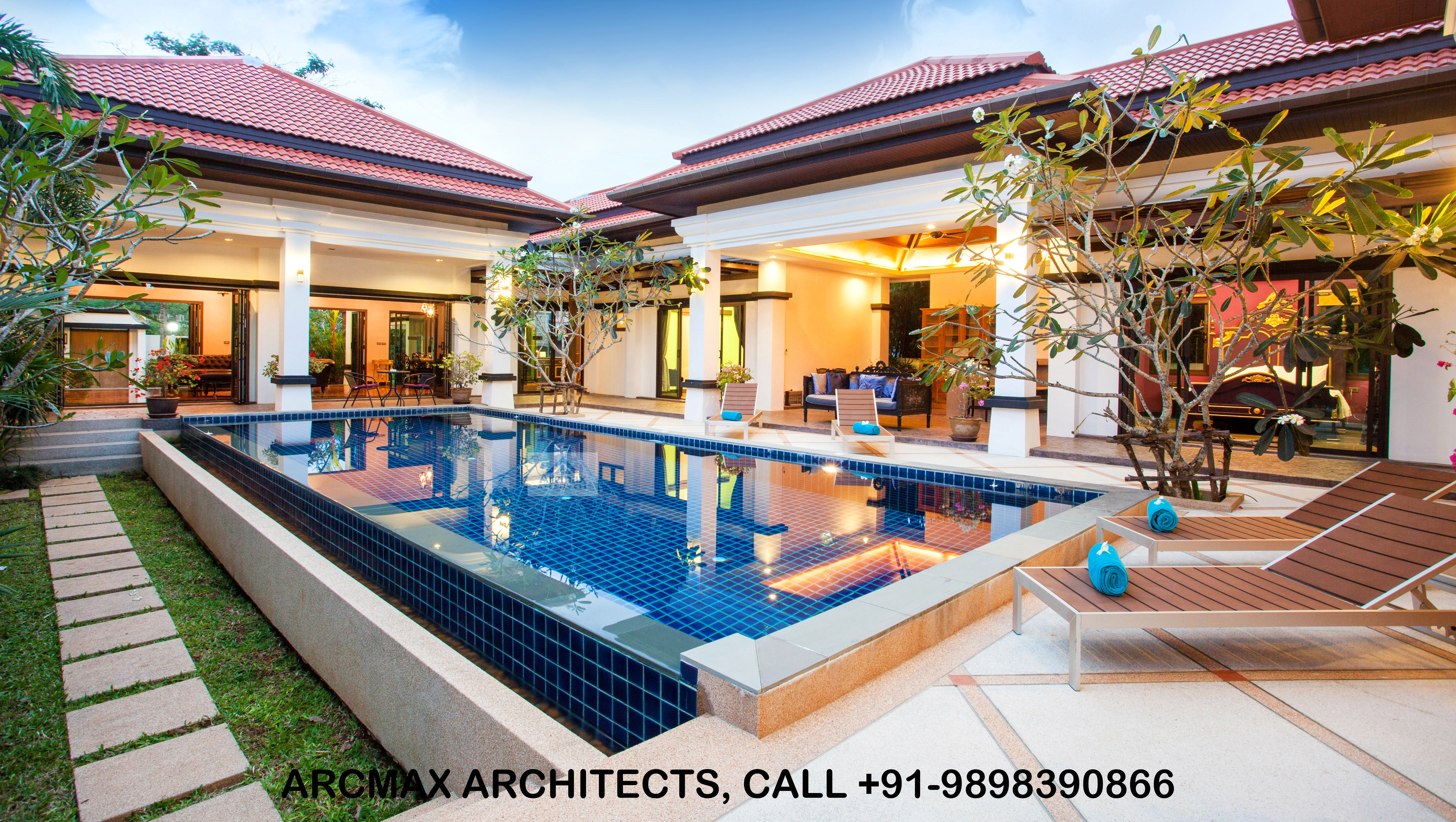 Top Modern Architects In Ahmedabad For Bungalow Design Arcmax Architects