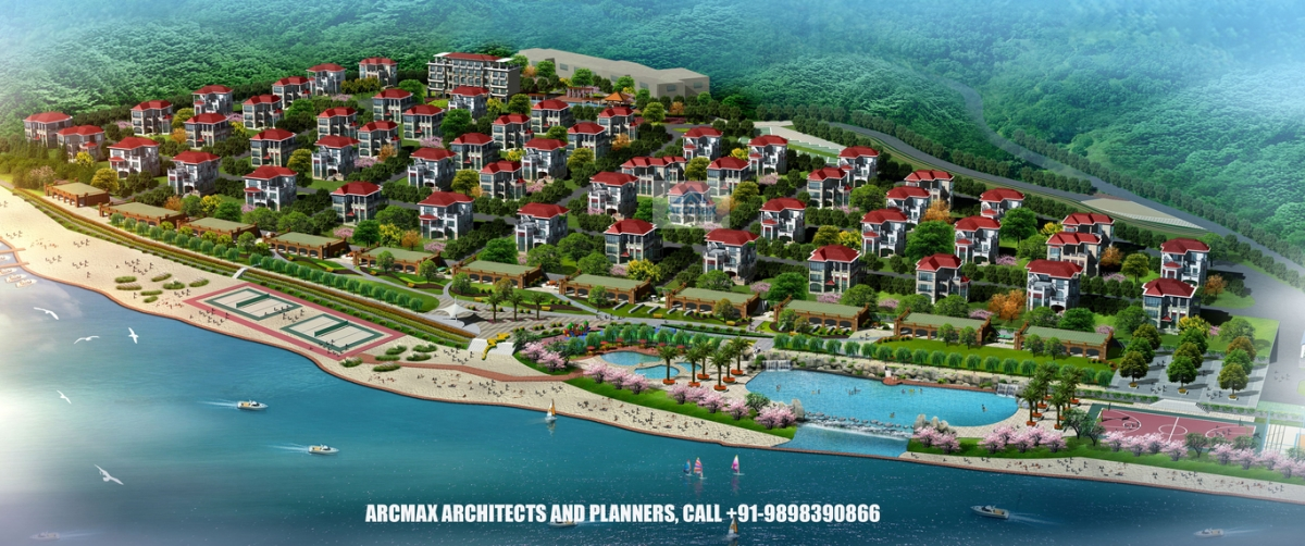 best resort design architect in india