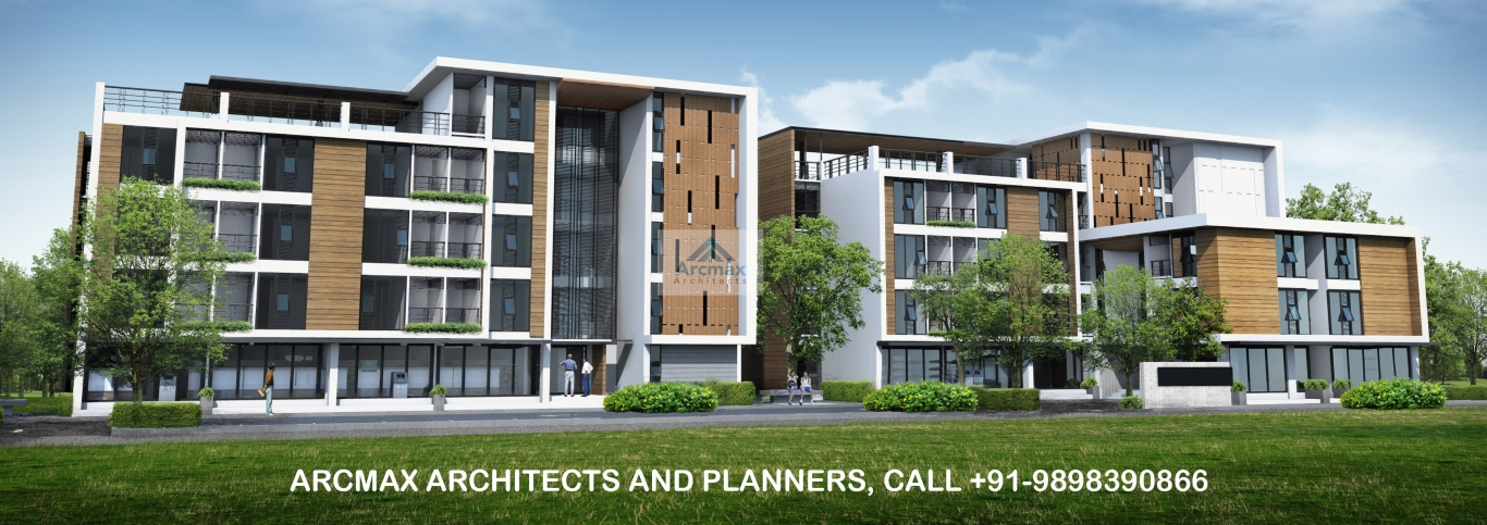 Best architects in surat for low cost township and housing design arcmax architects