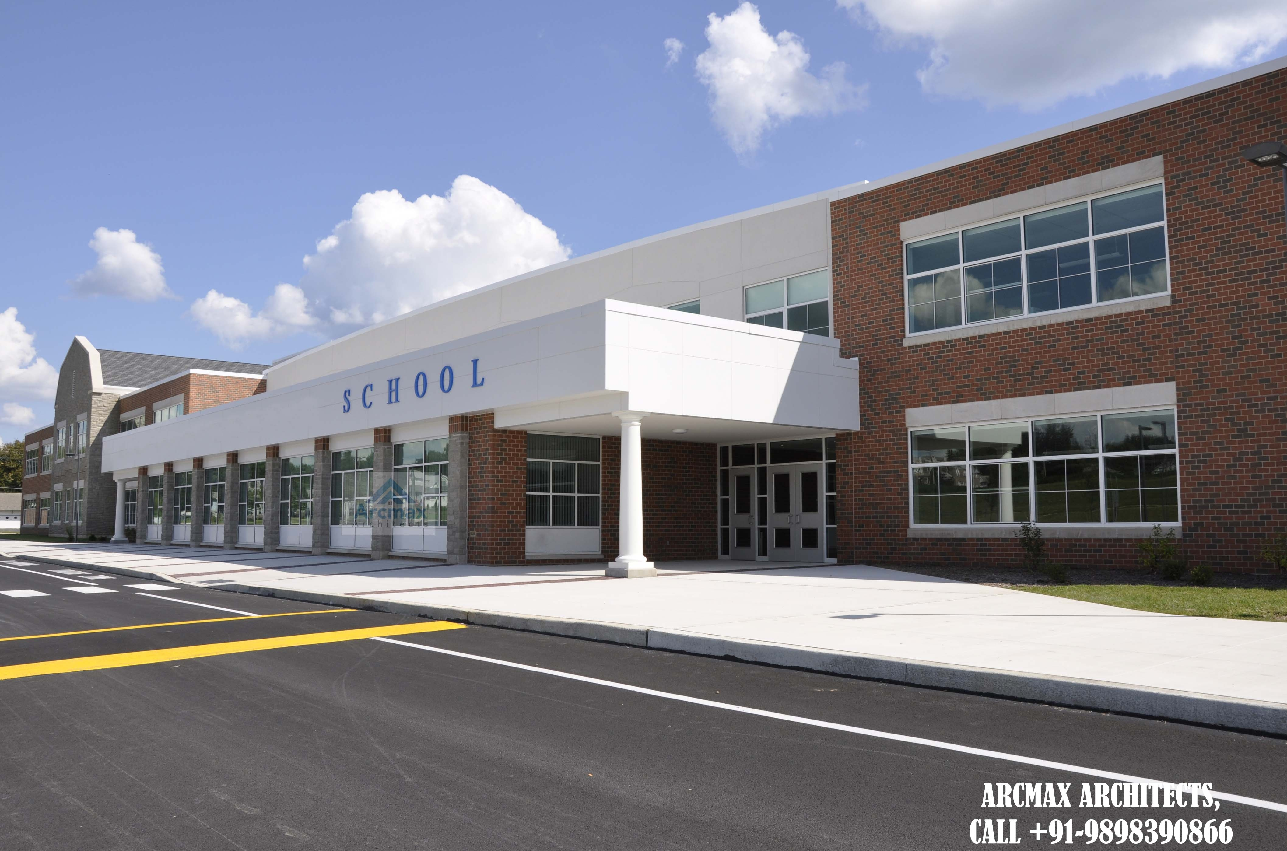 Hire arcmax architects and planners for high school building design and planning services anywhere in indiausauk and worldwide including all floor plans
